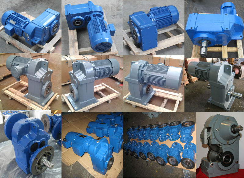 Parallel Shaft Helical Geared Motors