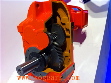Integral gear motors