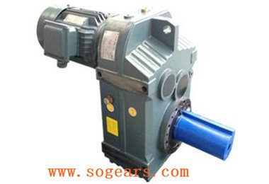 Three-stage helical speed reducer