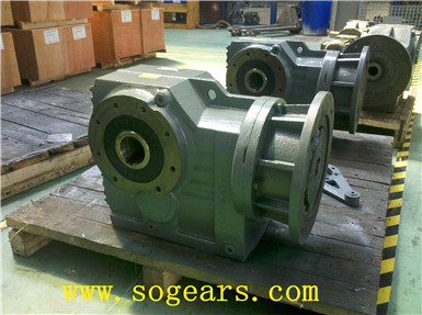 helical worm speed reducer