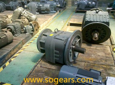 Concentric gear units