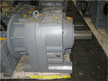 horizontal shaft gearbox
