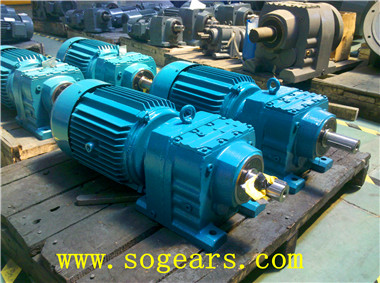 inclined gear reducers