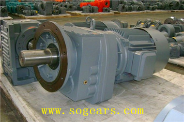 flange mounted gear motor