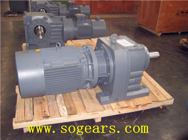Foot Mounted gear motor