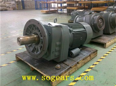 concentric shaft gear motor