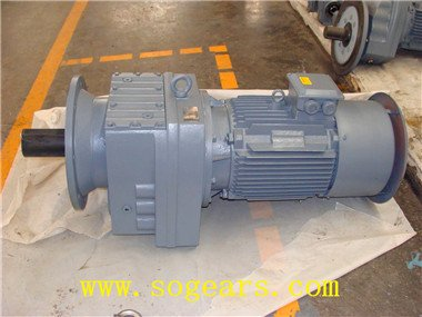 inline shaft helical gearmotor