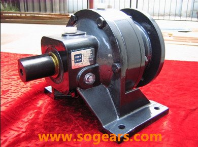 epicycloidal wheel gearbox