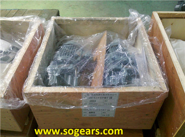 plastic machinery gearbox
