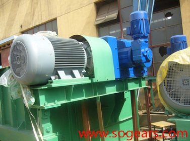 Gear units used for bucket elevator