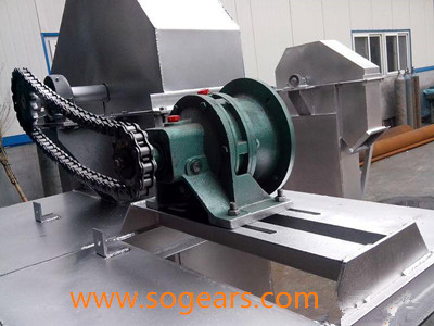 Gear box bucket elevator
