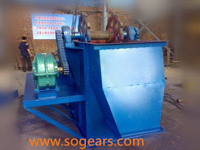 Gear reducer bucket elevator