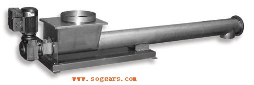 Helical worm gear reducers