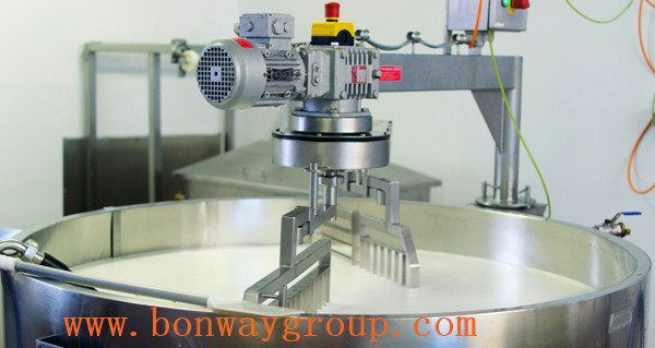 mixer geared drive