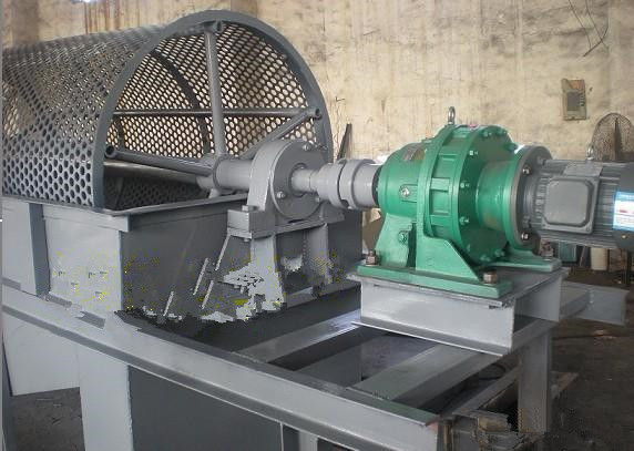 The gearbox and gear motor used in rotary screen machine