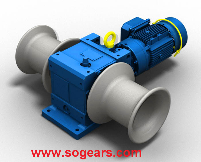 winch gear motor China manufacturer