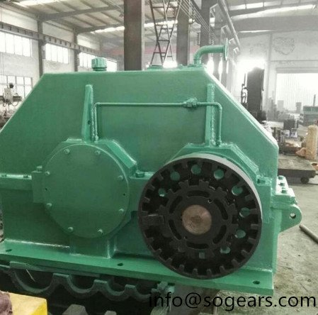 R series helical gear hard surface reducer