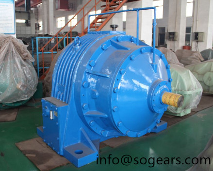high-speed r series helical reducer