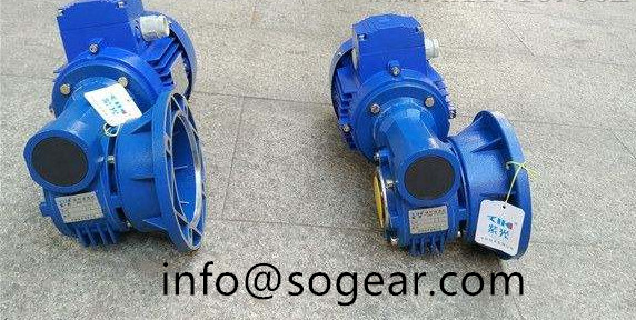 VF90 worm gear reducer
