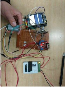 The Application of dc motor speed control system