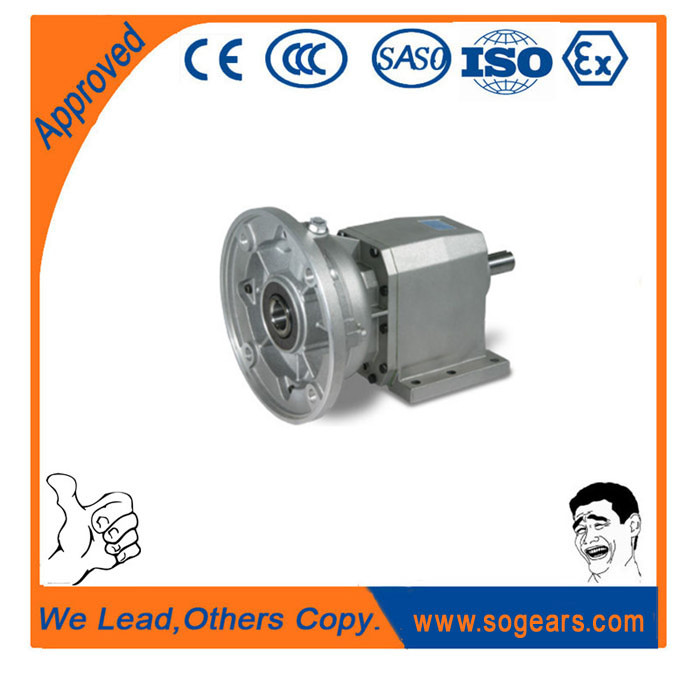 in-line helical geared motors