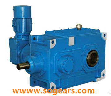 B series gearboxes Bevel Helical Gear box gearbox reducer