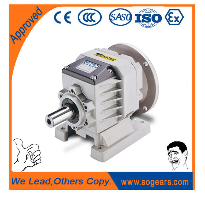 helical gear units