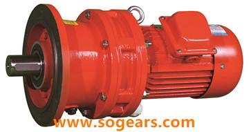cycloidal drive motor