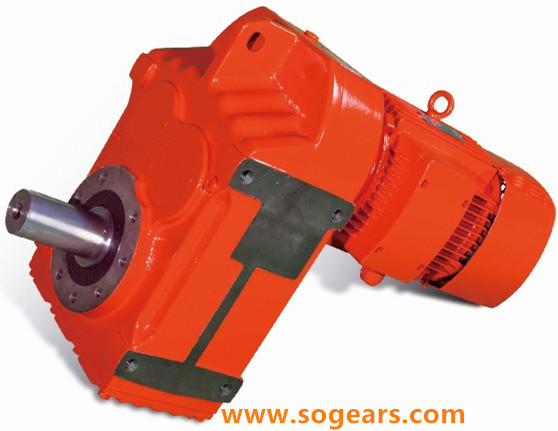 Shaft mounting gear motors