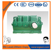 triple reduction gearboxes