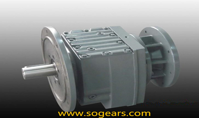 combined helical gearboxes