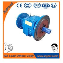 combined helical gear drives