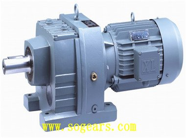 Helical inline DC Gear motors