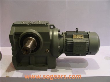K67 right angle shaft gearbox helical bevel gear units