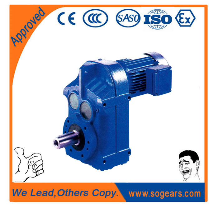 Parallel shaft gear reducer