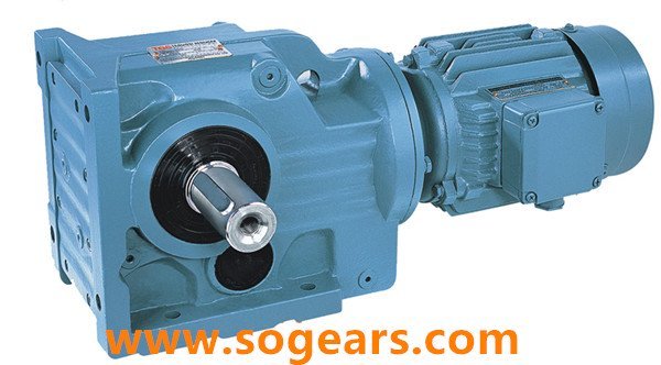 Solid Output shaft gear reducer