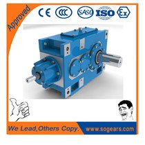 Bevel Helical Gear box